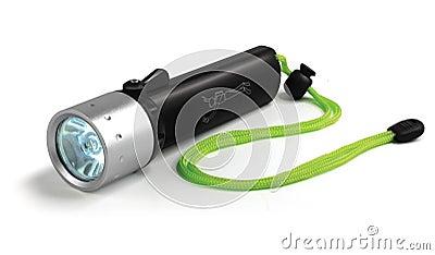 Cree led dive flashlight