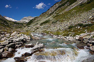 Creek in the alps