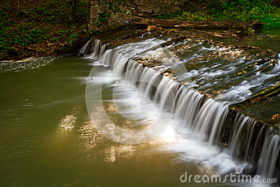 Creek cascade