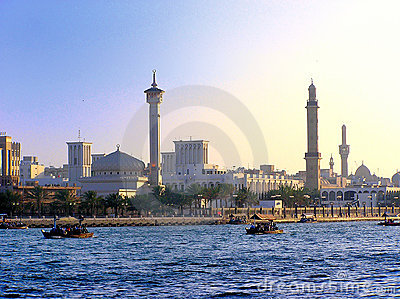 Creek and Minarets