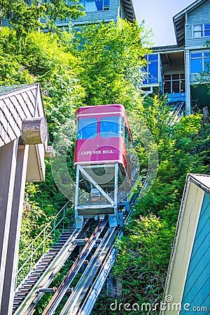 Free Creek Street In Ketchikan Alaska Views Stock Photos - 96990543