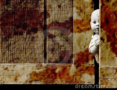 Creepy baby doll