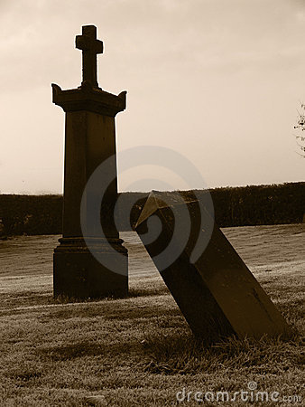 Creepy Halloween Gravestones