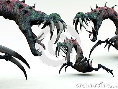 Creepy Monsters 2