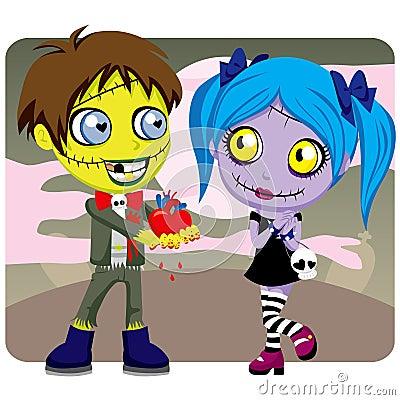 Creepy Zombie Love