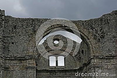 Crekvina church ruins