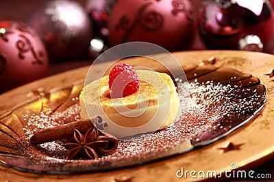 Creme brulee for Christmas