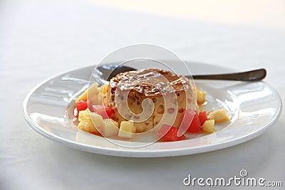 Creme Caramel. Vietnamese Cuisine