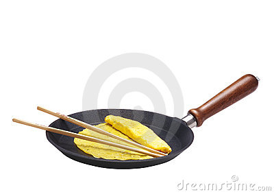Crepe in the pot