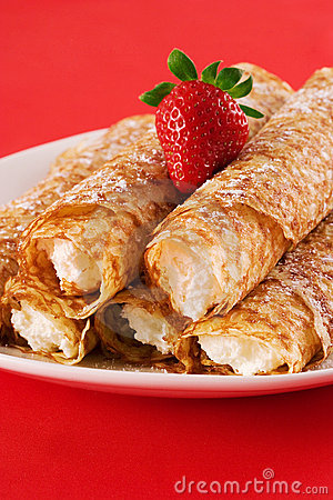 Free Crepes Royalty Free Stock Photography - 808867