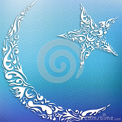 Crescent and star
