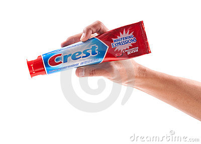 Crest Cinnamon Rush Editorial Image