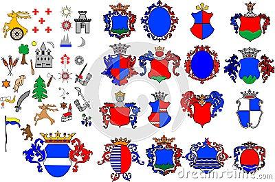 Crest Stock Illustrations – 16,275 Crest Stock Illustrations ...