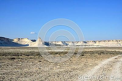Cretaceous mountains
