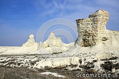Cretaceous mountains Kazakhstan