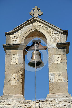 Free Crete Church Bell Royalty Free Stock Images - 55688079