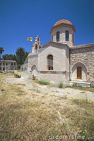 Crete Island, Church of Asomatos rethymnon