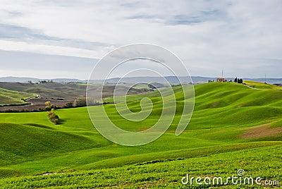 Crete senesi, Tuscany landscape