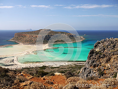 Balos Beach, Crete Island Greece