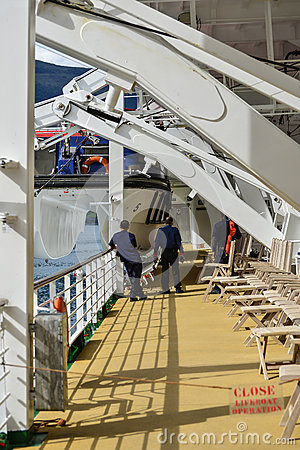 Crew maintenance Editorial Stock Photo