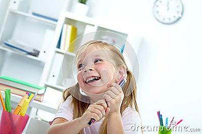 Criança alegre