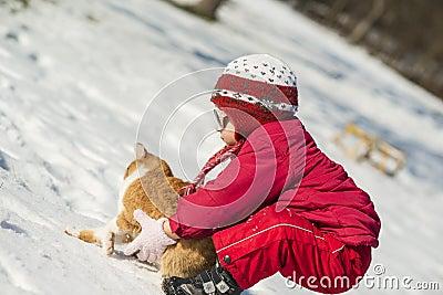 Criança do inverno