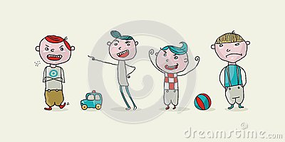 Crianças más ajustadas