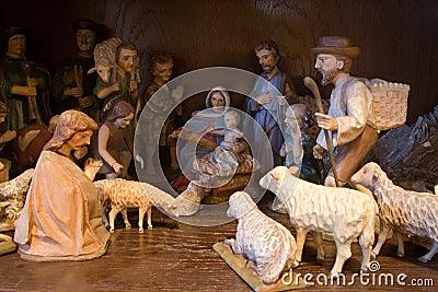 Crib - christmas