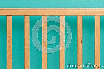 Crib railing