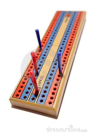 Free Cribbage Board Royalty Free Stock Images - 6740149