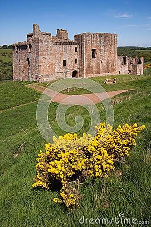 Free Crichton Castle, Edinburgh, Scotland Royalty Free Stock Photos - 47278398