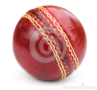 Free Cricket Ball Stock Photography - 32341782