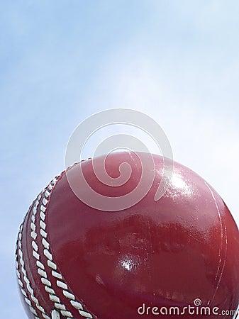 Free Cricket Ball And Sky Stock Photo - 109600