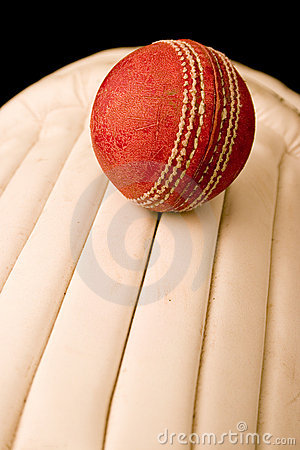 Cricket Ball and pads