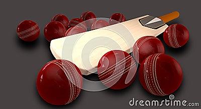 Cricket Bat And Balls