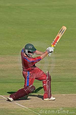 Free Cricket Player (batsman) Royalty Free Stock Images - 1832339