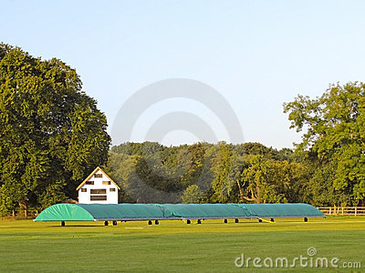 Cricket scoreboard and covers