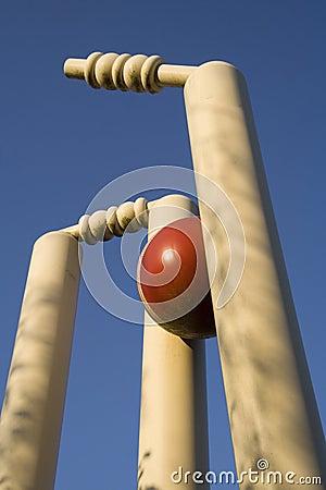 Free Cricket Stumps Royalty Free Stock Photo - 5099285