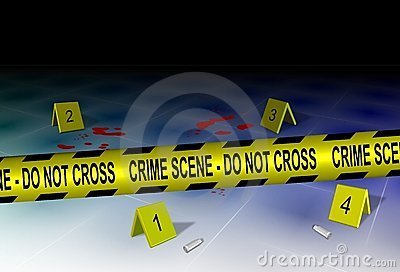 Crime Scene And Evidence Stock Photo - Image: 22906280