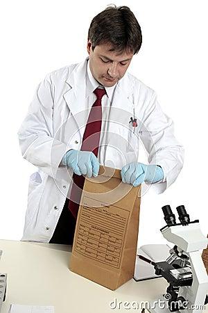 Crime scene forensic evidence