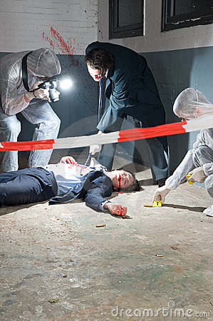 Free Crime Scene Investigation Royalty Free Stock Photos - 14989618