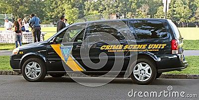 Crime Scene Unit Editorial Photography