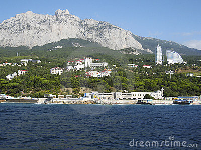 Crimea, coastline