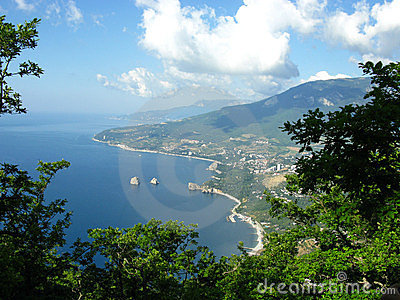 Crimea sea lanscape