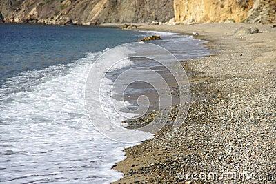 The Crimean beaches.
