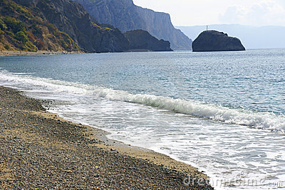 The Crimean beaches.
