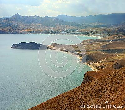 Crimean seashore