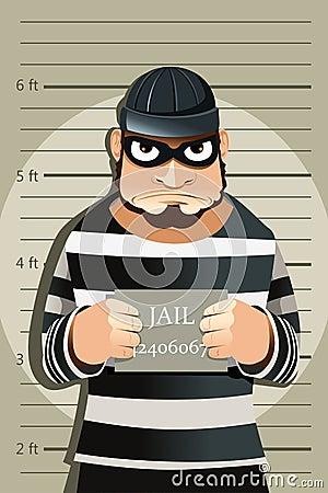 Free Criminal Mug Shot Royalty Free Stock Photography - 22616097