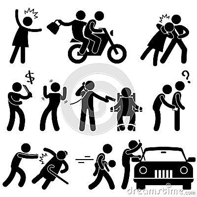 Free Criminal Robber Burglar Kidnapper Stock Images - 26971664