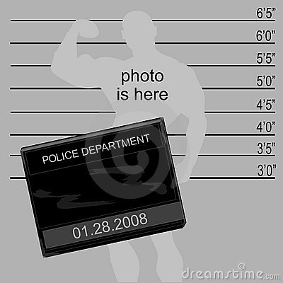 Criminal s mugshot.